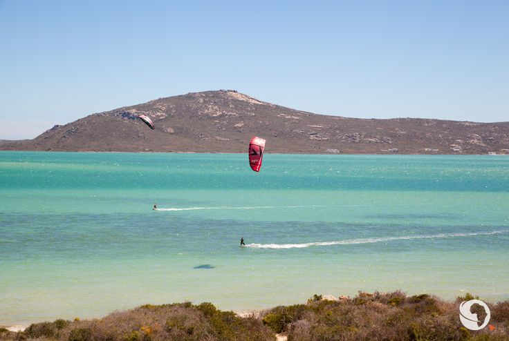 Langebaan lagoon kitesurfing - 2 hours from Cape Town - South Africa