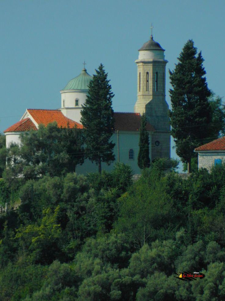 Bay of Kotor, Kamenari, Montenegro, Nikon Coolpix L310, 94.5mm, 1/160s, ISO80, f/16.3, -1.0ev, HDR-Art photography, 201607100838