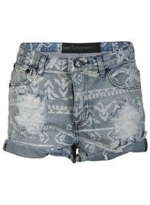 Shorts high waist aztec Korte Broeken van One Teaspoon