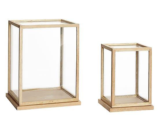 Glasboxen-Set Rosa, 2-tlg. Hübsch Interior