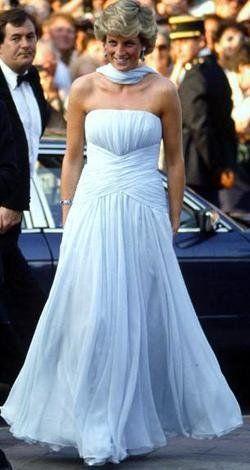 Princess Diana and Catherine Walker Photograph