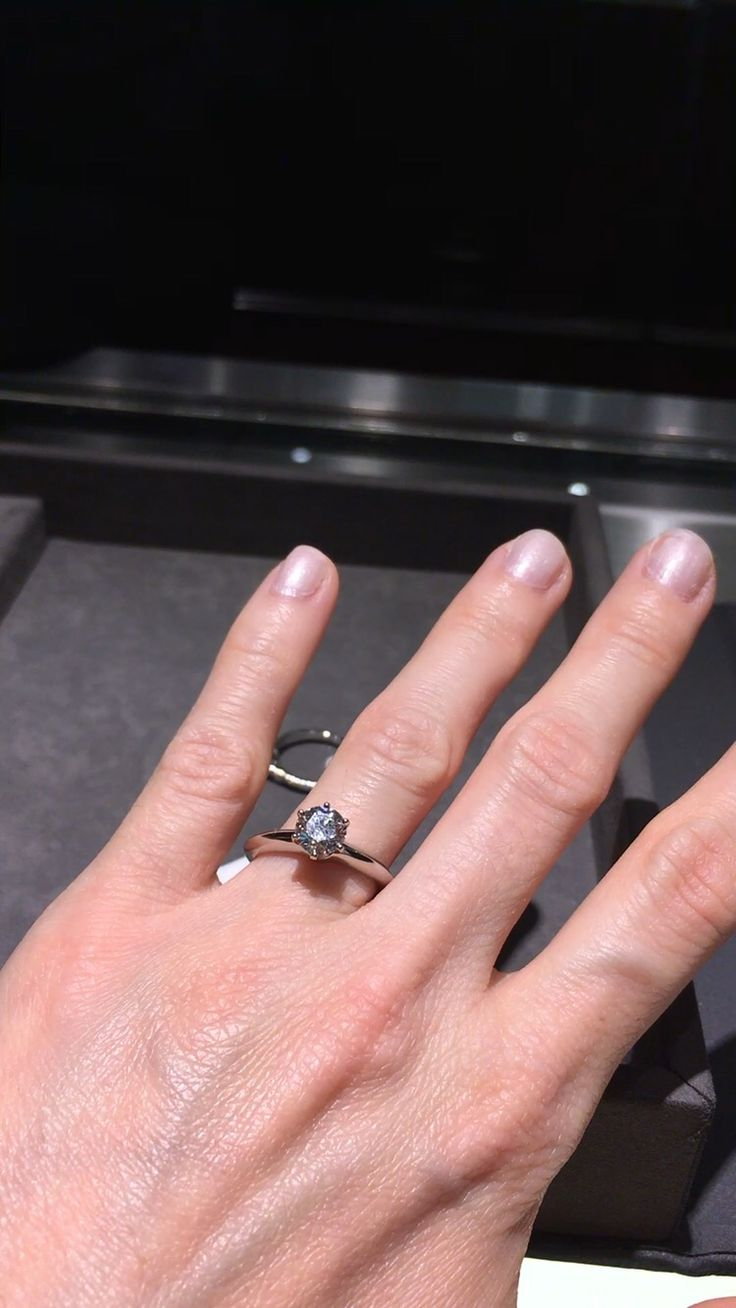 The 52 best Rings images on Pinterest   Petite, Diamond engagement ...