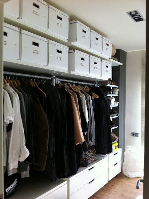 Ikea Stolmen, dressing room