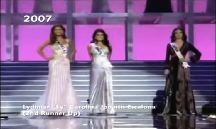 Miss Venezuela Ly Jonaitis 2th runner up in Miss Universe 2007 by Antoni Azocar