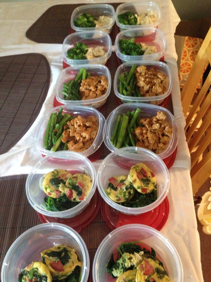 Meal prep for the week! Make your meals ahead of time to stay ...
