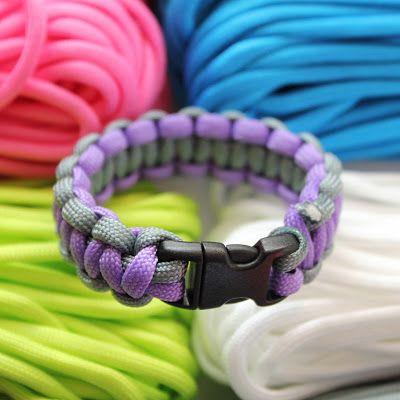 Armband maken van paracord | draadenpapier #bracelet