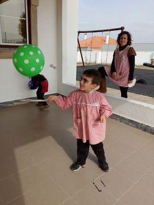 jogo- raquete com balão