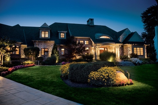 beautiful home with Kichler lighting #CapitolLighting