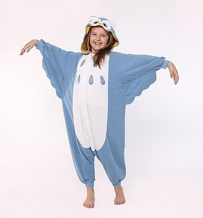 Owl Kids Animal Onesie Costume