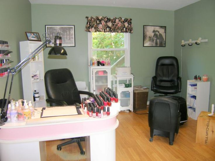 25+ Best Ideas About Home Nail Salon On Pinterest | Nail Room, At