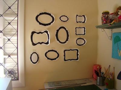 Parede de molduras com molde paredes to walls - Molduras para paredes ...
