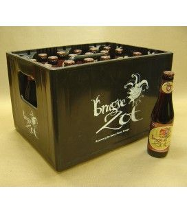 Brugse Zot Dubbel full crate 24 x 33 cl