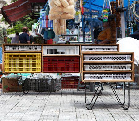 Jose Modern Storage Furniture by Mauricio Arruda