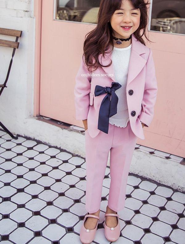 オルキデスール女の子向けフォーマルスーツセット #フォーマルスーツ #子供服 #キッズコーデ