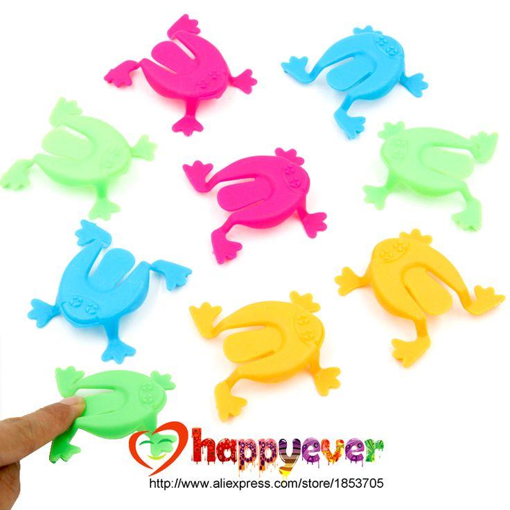 36 PCS 2 Pouce Jumping Frog Trémies Jeu Enfants Partie Faveur Fête D'anniversaire Jouets pour Fille Garçon Goody Sac Pinata charges dans Party Favors de Maison & Jardin sur AliExpress.com | Alibaba Group