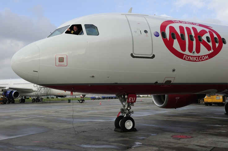 Our first Airbus A320 in new NIKI design