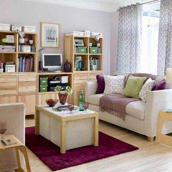 27 Ideas geniales para decorar y organizar un living pequeño!