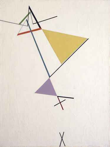 Desarrollo del triángulo - Tomas Maldonado, 1951