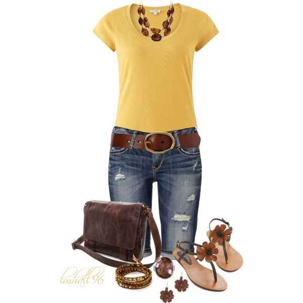"""T-shirt and Bermuda Shorts"" by lmhall96 on Polyvore"