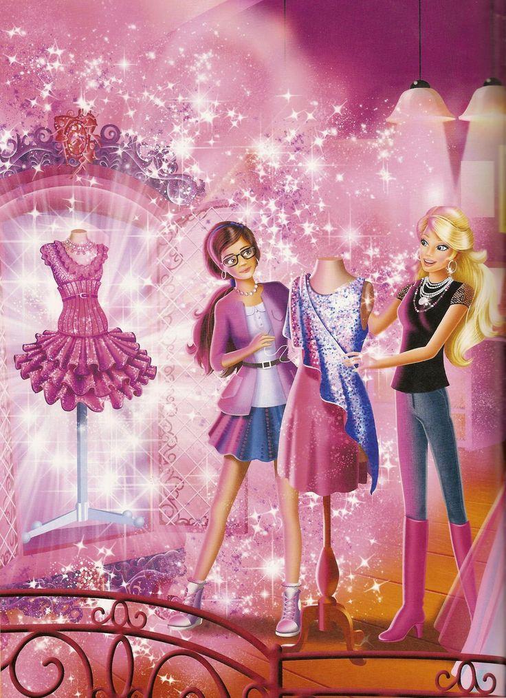 Barbie Cartoon   Barbie a Fashion Fairytale Movie