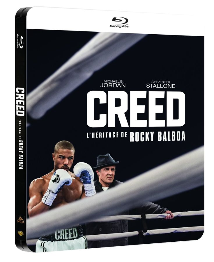 Creed [Édition boîtier SteelBook]: Amazon.fr: Michael B. Jordan, Sylvester Stallone, Tessa Thompson, Phylicia Rashad, Andre Ward, Tony Bellew, Ryan Coogler: DVD & Blu-ray