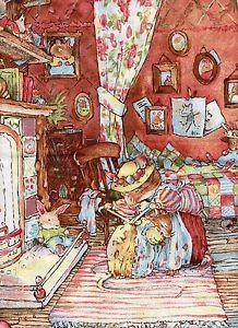 Primrose Safe At Home!  Brambly Hedge - Autumn Story by Jill Barklem