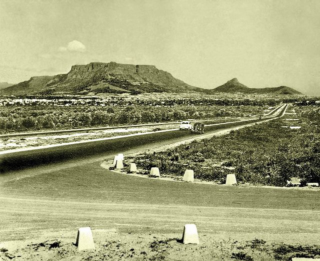 Plattekloof Rd. turn-off from the N1 c1952. | Flickr - Photo Sharing!