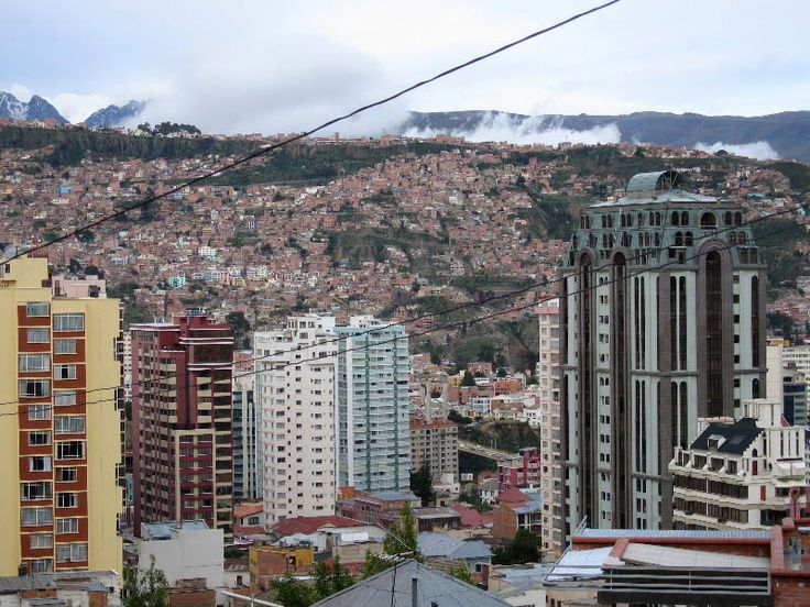Calama Chile. City center
