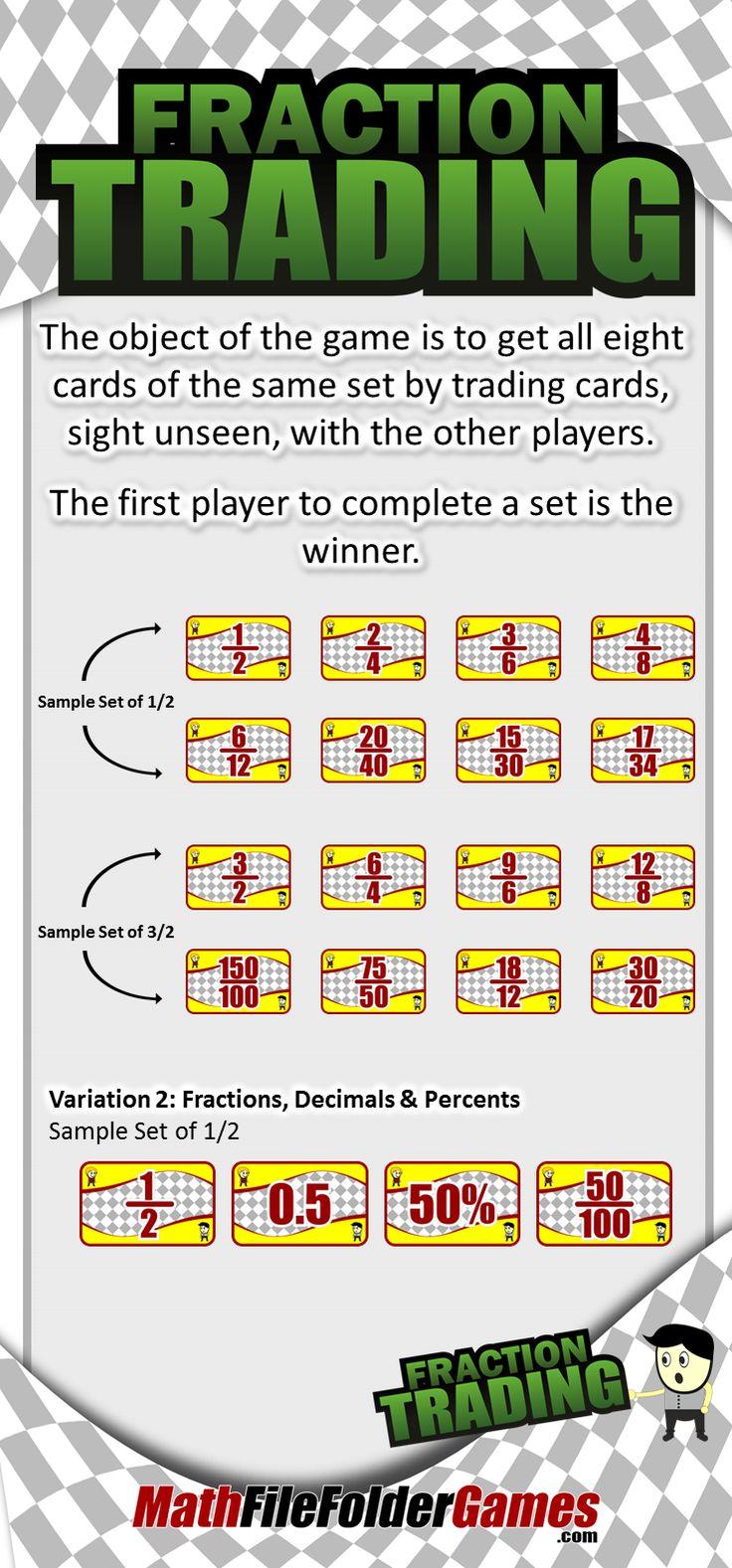 544 best Math Fractions images on Pinterest | Math fractions ...