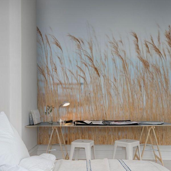 Hey,+bekijk+deze+mural+van+Rebel+Walls,+Swaying+Wheat!+#rebelwalls+#behang+#mural