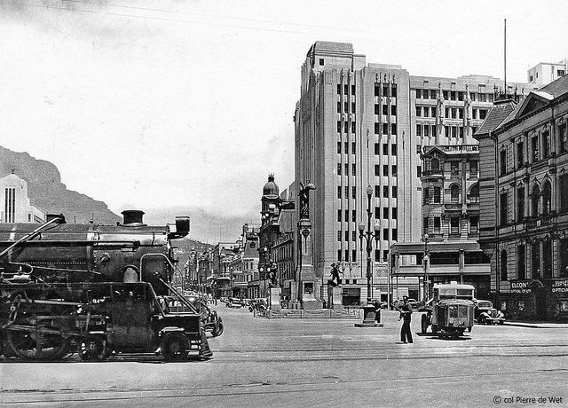 Crossing Adderley street. c1940. | Flickr - Photo Sharing!