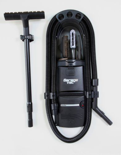 Garage vacuum cleaners don't have to be bulky cumbersome heavy and space hogging. GarageVac brings vacuum cleaners into the 21st...