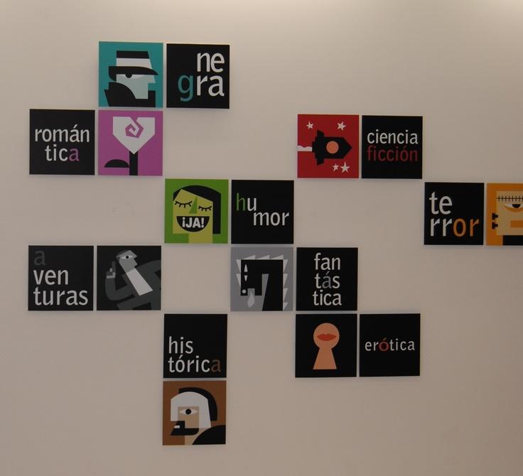 Iconos sobre la temática en obras literarias y de cine