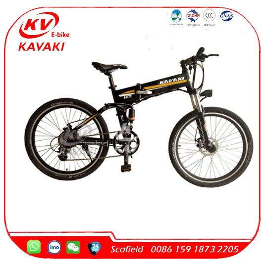2016 KAVAKI Electric Bike Mountain 250w Hidden Battery E Bike for Sale