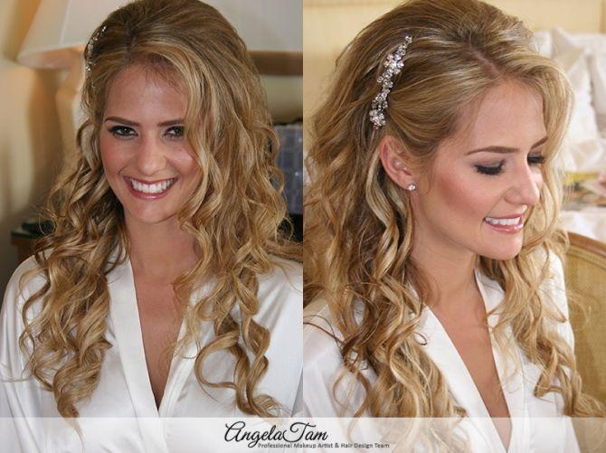 Orange County Wedding Makeup Artist And Hair Stylist Angela Tam Bride Amanda