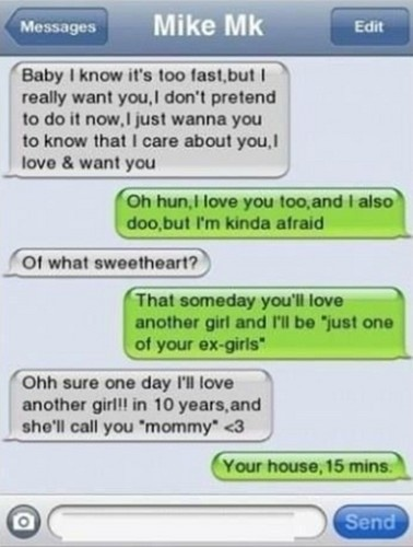 sexy texts to send your girlfriend