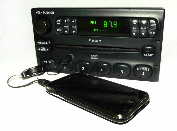 Ford Ranger 2000-2003 Am Fm Cd Radio W Aux Mp3 3 5mm Ipod Input