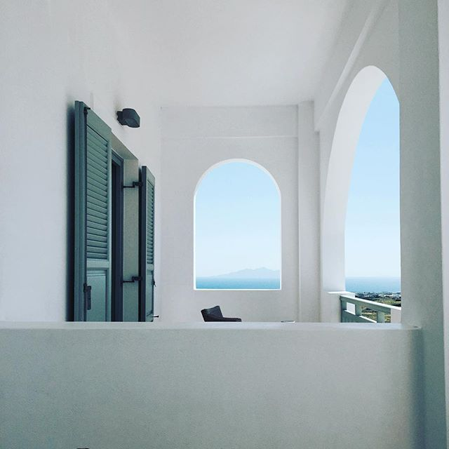 Astro Palace Hotel and Suites in Fira, Santorini. Lovely view, great location and excellent service. Pet Friendly hotel with no charge