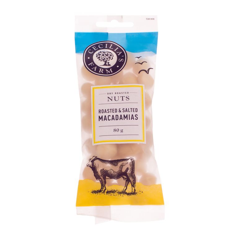 Our macadamia nuts are the only nuts grown locally in South Africa, in the Limpopo province to be precise. Macadamias are loved for their crispy, creamy texture. Roasted and lightly salted, they are a favourite snack. http://ceciliasfarm.co.za/product/roasted-salted-macadamias-2/