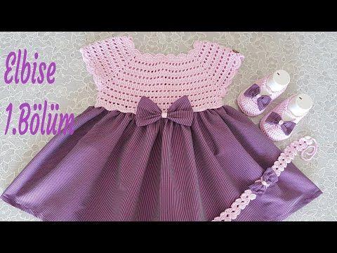 Yazlık Bebek elbisesi anlatımı 1.Bölüm – YouTube  – yazlık Bebek elbise