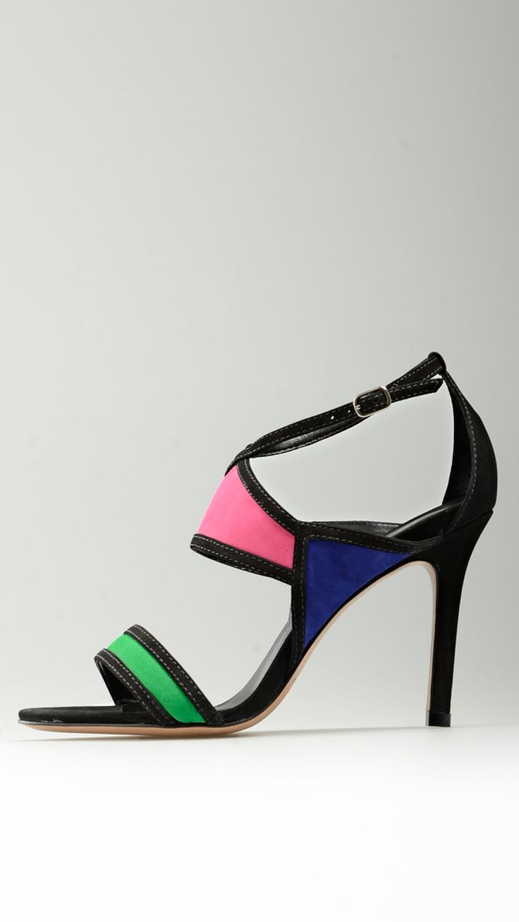 Color%20block%20suede%20heeled%20sandals%20in%20black,%20green,%20fuxia%20and%20purple%20tones,%20buckled%20ankle%20strap,%203.7%27%27%20heeled,%20leather%20sole,%20100%%20suede.