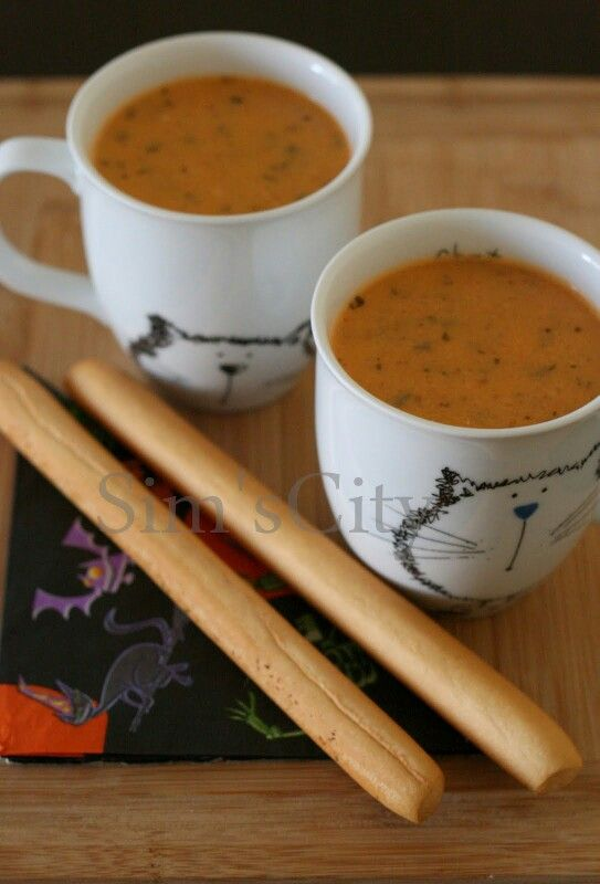 Domates Çorbası | My Food Blog / Sim's City | Pinterest