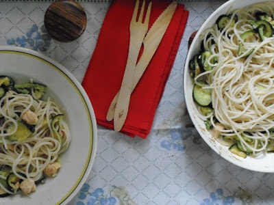 Ricette senza Nichel   Pasta spaghetti salmon   Recipe nichel free