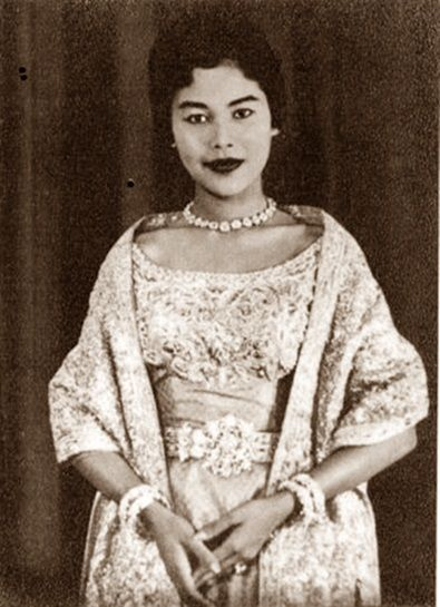 Her Majesty The Queen Sirikit Of Thailand.