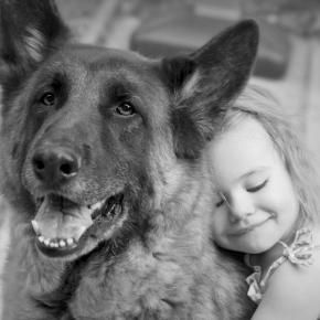 Her four legged protector: Photos, Best Friends, Dogs, Bestfriends, Pet, Quote, Kids, German Shepherd, Animal