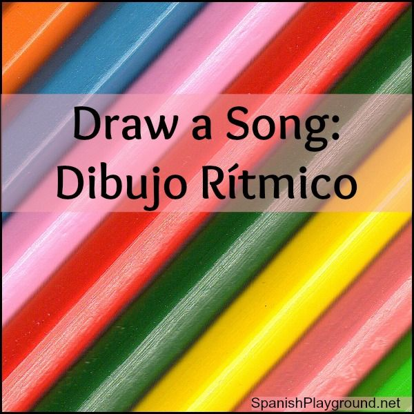 Draw in rhythm to music - simple pictures illustrate the lyrics of a Spanish song! Fabulously fun language activity by Cantoalegre. Watch these videos!