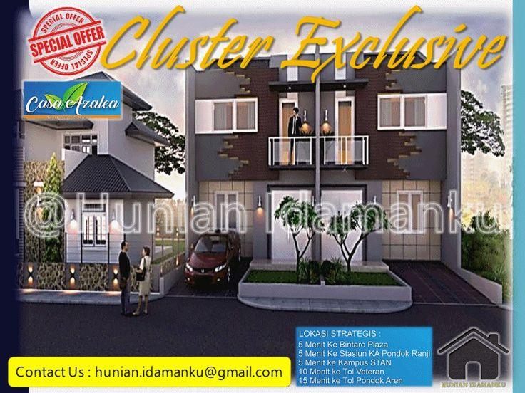 Casa Azalea Residence Pondok Betung Bintaro (Rumah Minimalis Mewah Murah Nyaman…