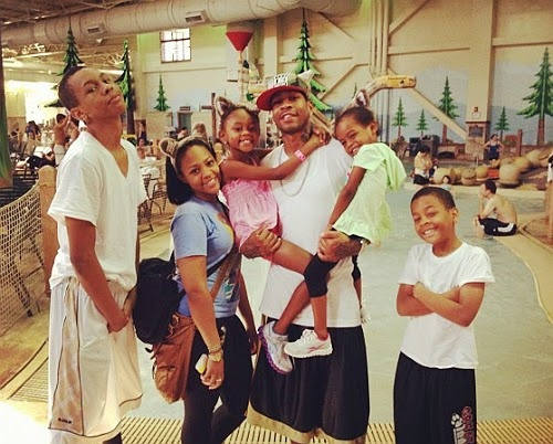 THIS IS THE CHRONICLES OF EFREM: OH NO HE DIDN'T? Allen Iverson KIDNAPPED his Kids!