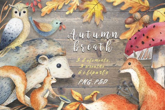Autumn breath by colibri on @creativemarket
