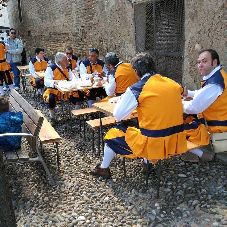 El bar del Ministerio del Tiempo. Feria Medieval de Utebo.